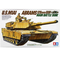 Tamiya 35156 M1A1 Abrams 120mm Gun Main Battle Tank 1/35