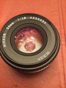 Nikkor 50 1.8 Pancake Lens
