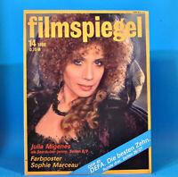 DDR Filmspiegel 14/1989 Olsenbande Egon Olsen Charles Laughton Sophie Marceau O