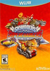 SKYLANDERS SUPERCHARGERS NEW NOT SEALED Game Only Nintendo Wii U US NTSC VERSION