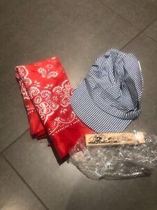 Train Engineer Set - Bandana Hat and Whistle