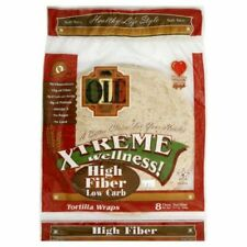 3 pack KETO LOW CARB Tortilla Wraps Mexican Foods High Fiber TortillasDIET