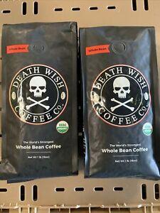 2/1 Pound Death Wish Whole Bean Coffee 6/2021-7/2021