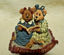 """Estate:2000 Boyds Bears & Friends """"Friends.they cherish each other's hopes."""