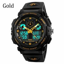 Men's Quartz Watch Sports Army Speedometer Style LED Digital Wrist Watch Canada