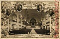 AK Mannheim, Jubilium, 50. Badisches Sängerfest, 1913, 06/04