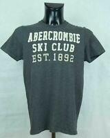 MENS ABERCROMBIE AND FITCH T SHIRT COTTON SIZE M VGC
