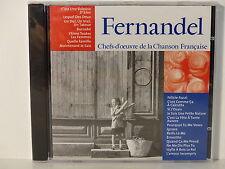 CD ALBUM Chefs d oeuvre de la chanson francaise FERNANDEL CF 020  NEUF