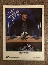 WWF WWE The Undertaker Original 1991 Promo