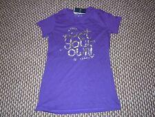 Hang Ten Viola T-shirt taglia M nuova con etichetta