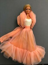 1984 Peaches and Cream Barbie doll original outfit 80's with jewelry