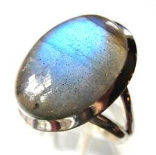 Labradorit-Ring, 925er Sil., Gr.54-55