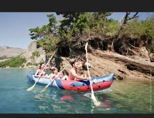Inflatable Kayak Sevylor Tahiti Plus - 2 + 1 Person, Canoe - New Boxed