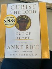 Christ the Lord Out of Egypt: A Novel by Anne Rice (6 cassettes)