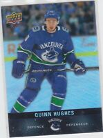 19/20 TIM HORTONS...QUINN HUGHES...ROOKIE...CARD # 83...CANUCKS