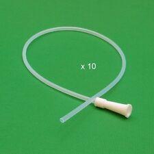 Enema Supplies - PVC Colon Tips - Saver Pack - Set of 10