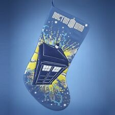 DR WHO - TARDIS (11TH DOCTOR) CHRISTMAS STOCKING RRP $29.95