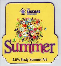 BACKYARD BREWHOUSE (WALSALL) - SUMMER (2) - PUMP CLIP FRONT