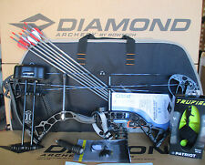 2018 Diamond Bowtech Infinite Edge Pro LH BLACK OPS Compound Bow UPGRADE Package