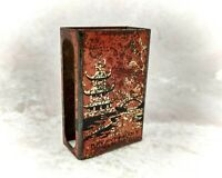 Vintage Tobacciana-Bryant & May Metal/Tin Matchbox Case-Advertising/Tobacco
