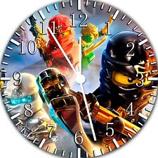 Lego Moive Ninjago Frameless Borderless Wall Clock Nice For Gifts or Decor F82
