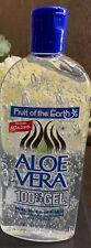 Fruit Of The Earth Pure Aloe Vera 100% Gel-Fragrance & Color Free 12 oz.