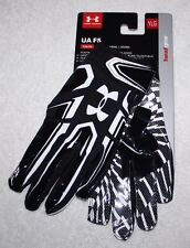 Under Armour Black UA F5 Youth Boys Kids Football Gloves YLG 1271185 NEW Pair