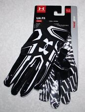 Under Armour Black UA F5 Youth Boys Kids Football Gloves YLG 1271185 NEW Pa