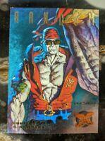 1995 Fleer Ultra X-men - Hunters and Stalkers Foil Chase Card 4/9 Random