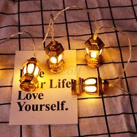 Colorful Lamp Lantern Islam Eid Ramadan Light Party Home Decor 10 LED String