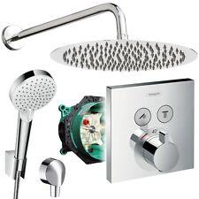 Unterputz Duschsystem mit Kopfbrause Ø300 mm, Hansgrohe Shower Select Thermostat