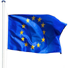 Alu Fahnenmast 6,25 m inkl Bodenhülse Europa Fahne Mast EU Flagge Flaggenmast