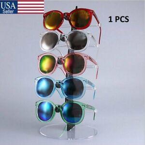 Baosity Eyeglass Sunglasses Glasses Artsy Holder Mannequin Head Display Stand Black