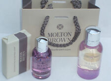 MOLTON BROWN 50ml BLOSSOMING HONEYSUCKLE AND WHITE TEA EDT GIFT SET SHOWER SOAP