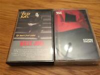 Billy Joel 2 Cassette Lot: An Innocent Man and Storm Front