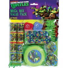 Teenage Mutant Ninja Turtles Birthday Favors Pinata Bag Filler Prizes Decoration