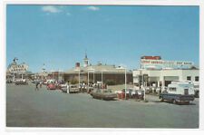 Little America Gas Station Cars Wyoming Roadside America postcard