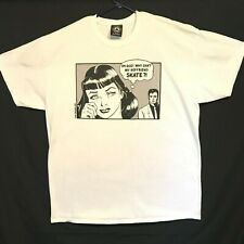 Thrasher Magazine Oh God Why Can't My Boyfriend Skate Mens XL T-Shirt White RARE