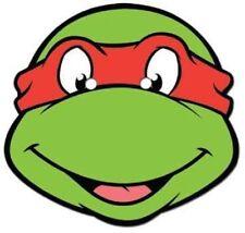 Raphael Teenage Mutant Ninja Turtles Tmnt Oficial tarjeta única Partido Mascarilla
