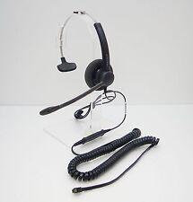 SP11 Headset + Practica U10P Cable for Avaya Nortel Toshiba Polycom Hybrex Mitel