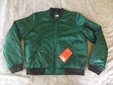 The North Face Women's Barstol Bomber Jacket SHINY Green M Medium NWT $139