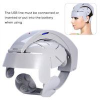 Head Relax Massage Helmet Electric Eye Neck Massager Pain Relief Relaxing