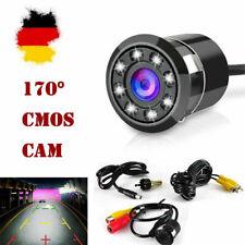 Auto KFZ Rückfahrkamera Camera 170° Blickwinkel 8 LED Nachtsicht Wasserdicht Cam