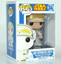 Funko Pop Star Wars Luke Skywalker Hoth Bobble Head Figure #34