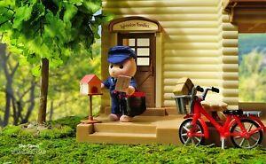 Sylvanian Families Calico Critters Village Postman Set
