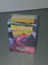 Dragon Shield 100 Standard Size Card Sleeves Purple Matte New and Sealed