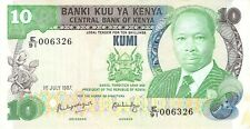 Kenya 10 Shillings 1987 P20 - Combine Shipping Free (L46)