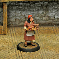 Otherworld Minis D&D NPC Miniature - SERVING WENCH I  (AWESOME FIGURE and NEW!!)
