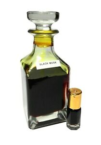 BLACK MUSK 3ML HIGH QUALITY ARABIAN  PERFUME OIL / ATTAR / ITR BY ESHOP