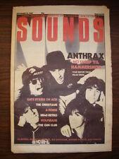 SOUNDS 1987 NOV 14 ANTHRAX LL COOL J UB40 BOMB PARTY